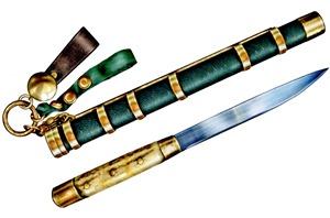 Нож казаков-пограничников иноверческих полков образца 1840 года