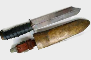 Советский водолазный нож (1У-170)