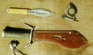 Нож для выживания Бобр