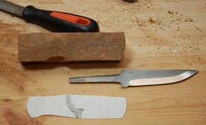 сборка ножа